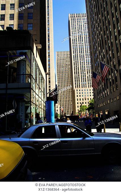 Rockefeller center in Midtown Manhattan New York city