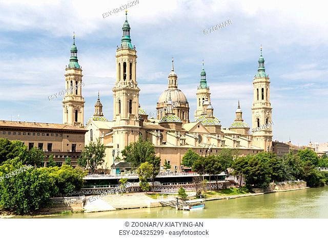 Zaragoza Basilica Cathedral Spain
