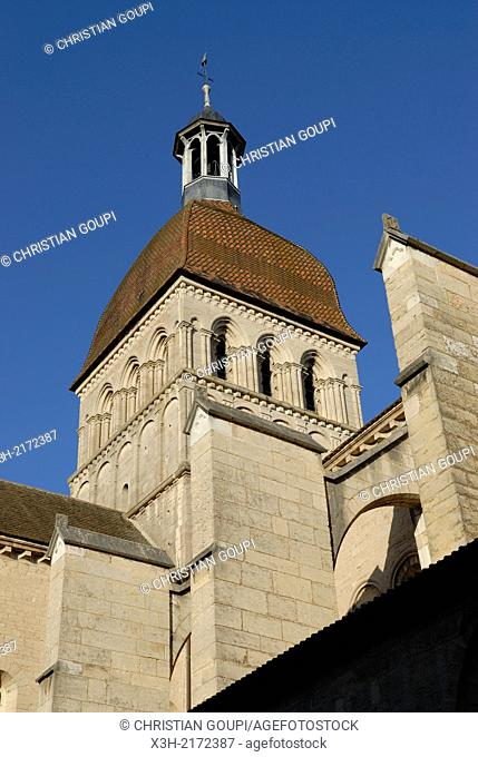 Collegiate church Our Lady of Beaune, Cote-d Or department, Burgundy region, France, Europe