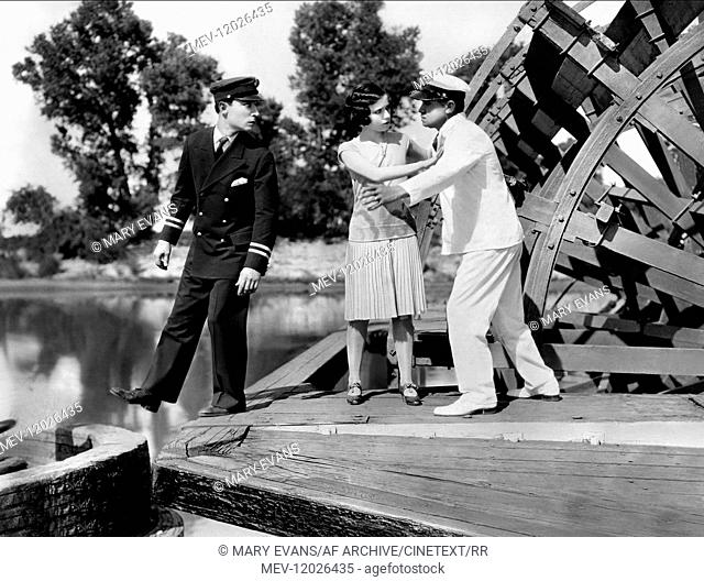 Buster Keaton, Marion Byron & Tom Mcguire Characters: William Canfield Jr., Kitty King (credit only), John James King Film: Steamboat Bill, Jr