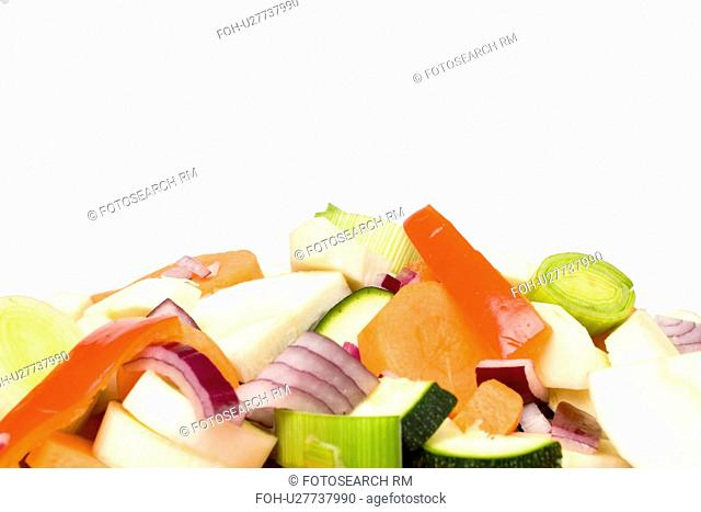 Mixed Chopped Vegetables