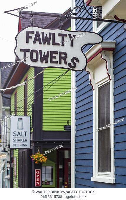 Canada, Nova Scotia, Lunenburg, Unesco World Heritage fishing village, Fawlty Towers Inn