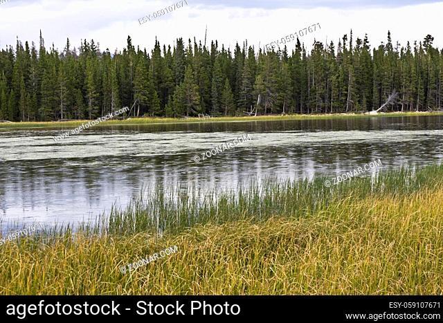 Rain in Rockies Rocky Mountain National Park