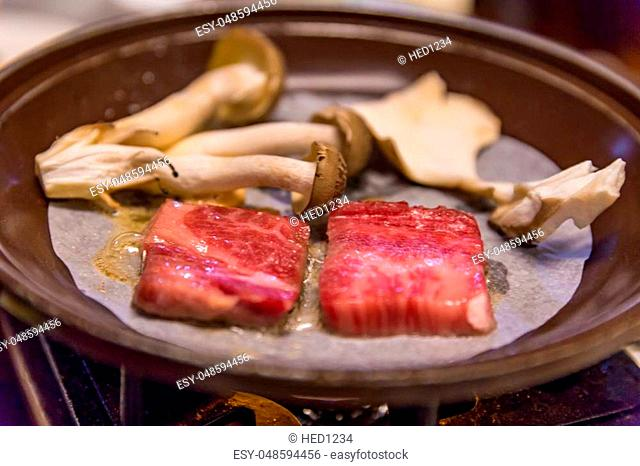 """Japanese Wagyu """"""""Hida beef"""""""" grilled meat"""