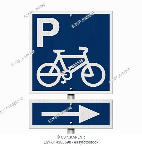 Bike Parking Sign