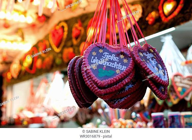Gingerbread hearts Christmas fair