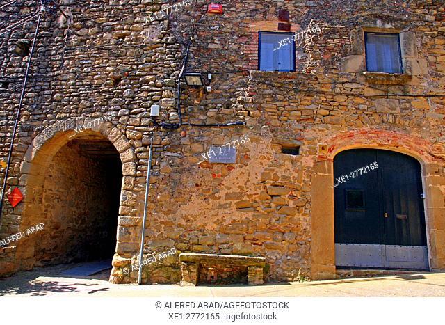 Placeta del Quatre vents, Madremanya, Girona, Catalonia, Spain