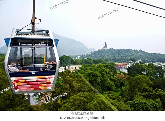 Cable Car, Lantau Island, Hongkong, China