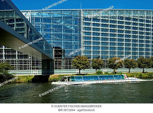 European Parliament, Strasbourg, Alsace, France