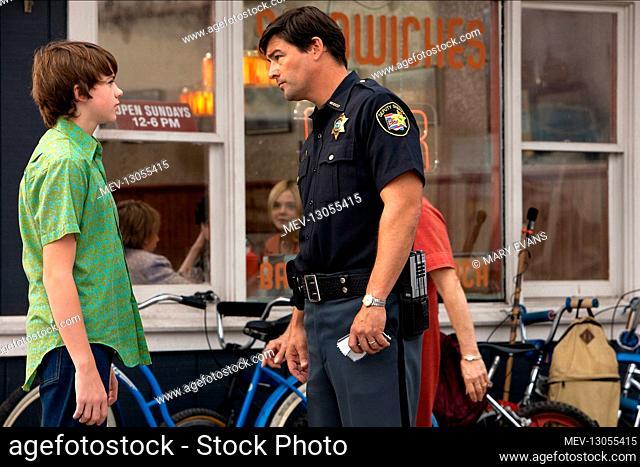 Joel Courtney & Kyle Chandler Characters: Joe Lamb, Deputy Lamb Film: Super 8 (USA 2011) Director: J.J. Abrams 09 June 2011