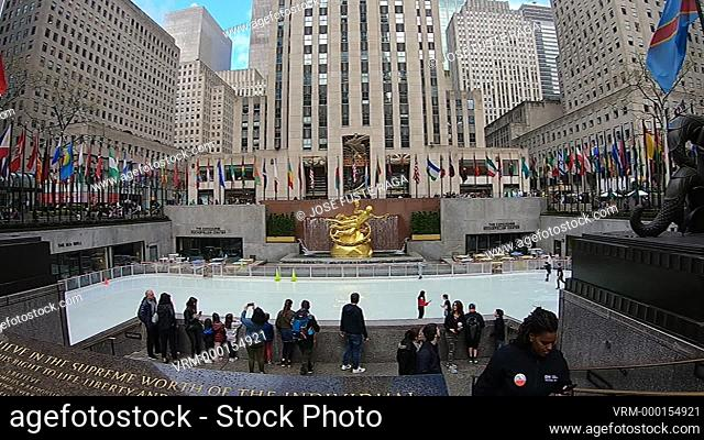 USA, New York City, Manhattan, Downtown, World Trade Center Station, North Pool