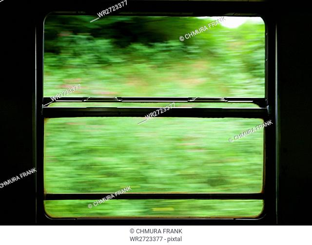 abstract, blurred, fast, journey, landscape, motion, movement, nature, railroad, railway, speed, train, transport, transportation, travel, trip, view, way