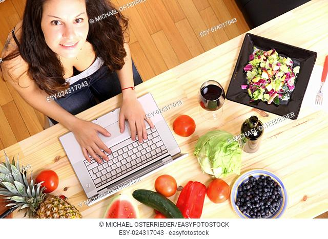 Cooking with some help from a Laptop