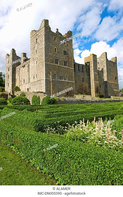 England, Yorkshire Dales, Wensleydale, Bolton castle