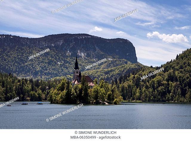 Bleder lake, Slovenia