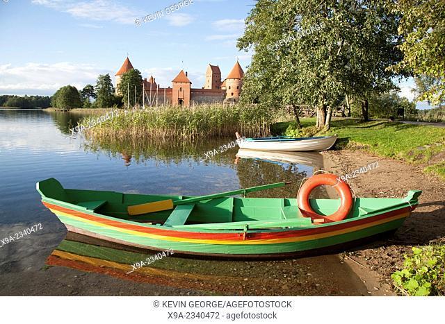 Trakai Island Castle; Vilnius; Lithuania
