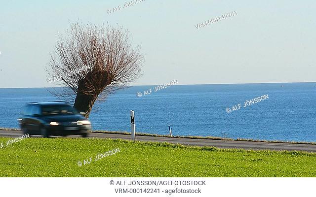 Traffic at Baltic sea