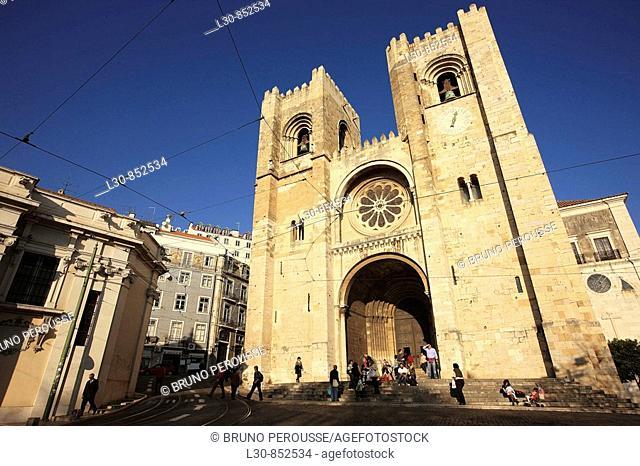 'Se' cathedral, Lisbon, Portugal