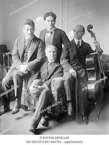 Fritz Kreisler, Pablo Casals, Damrosch & Bauer, Musical Talent