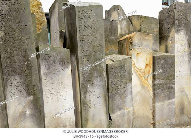 Jewish Memorial, Halberstadt, Saxony Anhalt, Germany