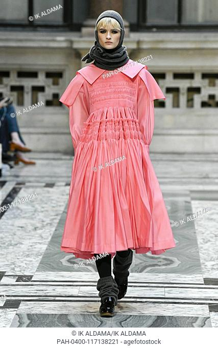 Molly Goddard Runway Show During London Fashion Week Aw19 Autumn