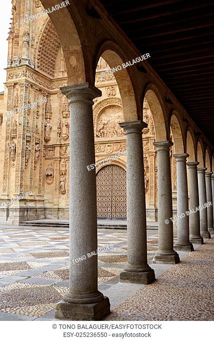 San Esteban Convent in Salamanca at Spain of Dominicos