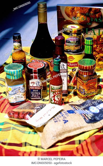 Jamaica, local spicy sauce
