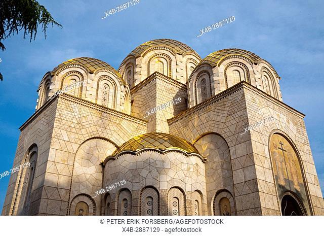 Orthodox church of Saints Constantine and Elena, Skopje, Macedonia