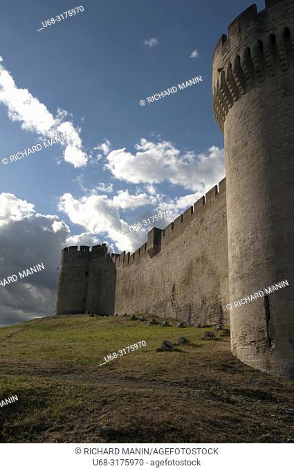 France, Gard, Villeneuve les avignon, Fort Saint-André