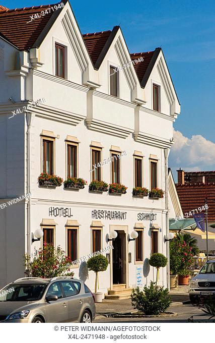 Moerbisch on Lake Neusiedl, Seewinkel, Burgenland, Austria