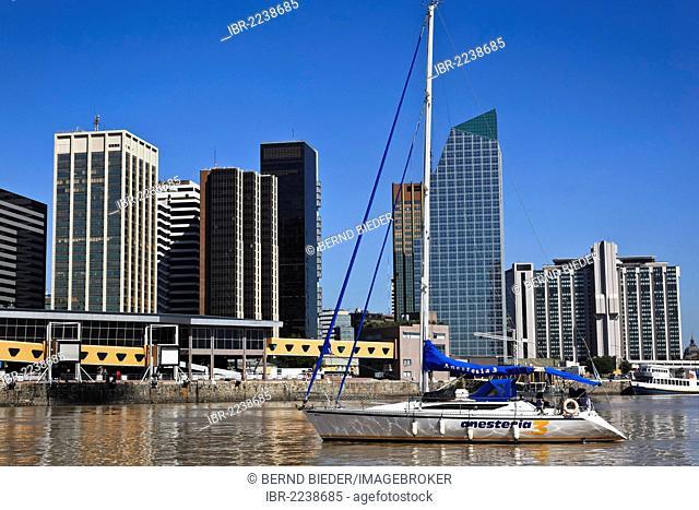 Buenos Aires, harbour quarter, Argentina, South America
