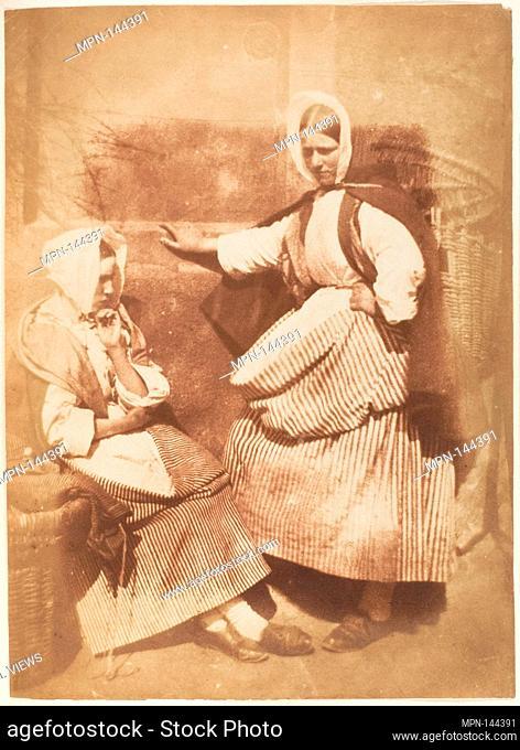 Mr. and Mrs. John Thomson. Photography Studio: Hill and Adamson (British, active 1843-1848); Artist: David Octavius Hill (British, Perth