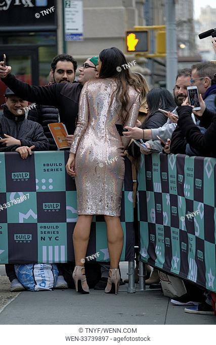 Danielle Herrington leaving AOL build Featuring: Danielle Herrington Where: New York City, New York, United States When: 15 Feb 2018 Credit: TNYF/WENN
