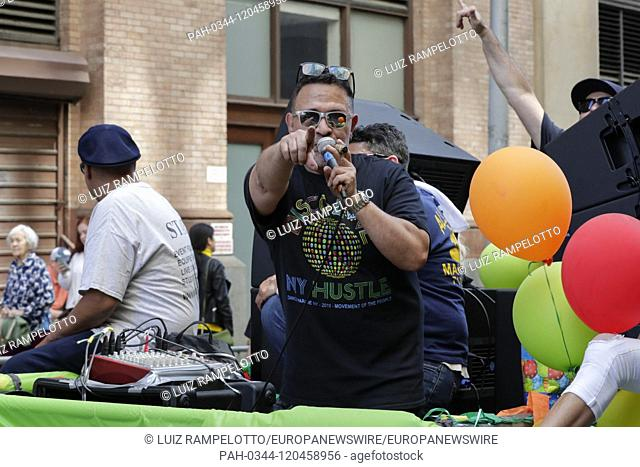 Soho, New York, USA, May 18, 2019 - Thousands of marchers participated on the 13th annual Dance Parade through the East Village today in New York City