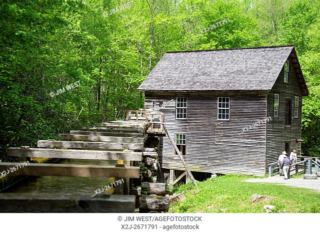 Great Smoky Mountains National Park, North Carolina - Mingus Mill, an 1886 grist mill
