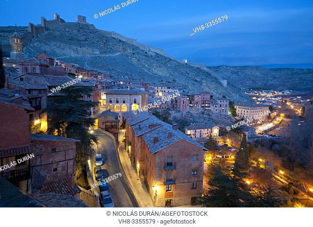 Albarracín night vision, Teruel, España