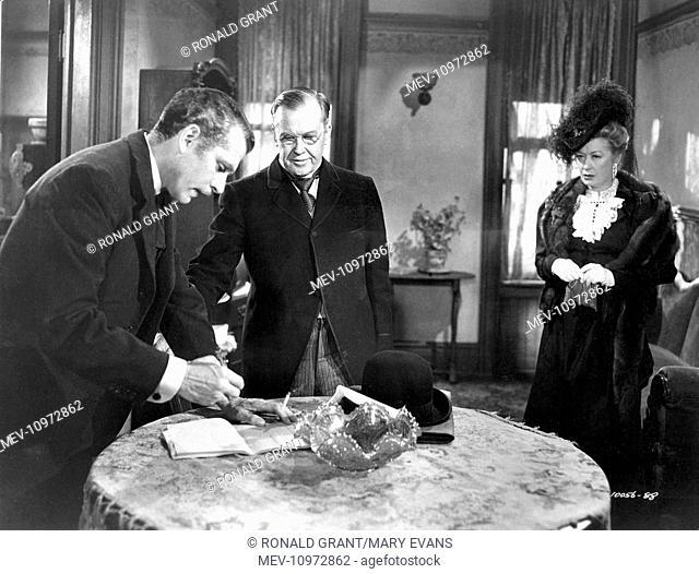 CARRIE [US 1952] LAURENCE OLIVIER, HARRY HAYDEN, MIRIAM HOPKIN