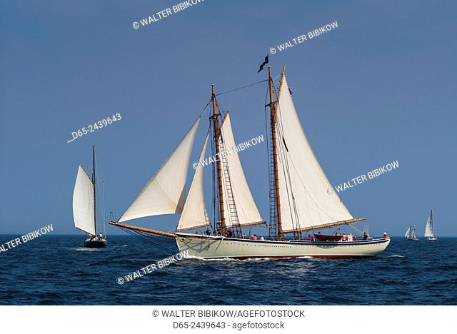 USA, Massachusetts, Cape Ann, Gloucester, America's Oldest Seaport, Annual Schooner Festival