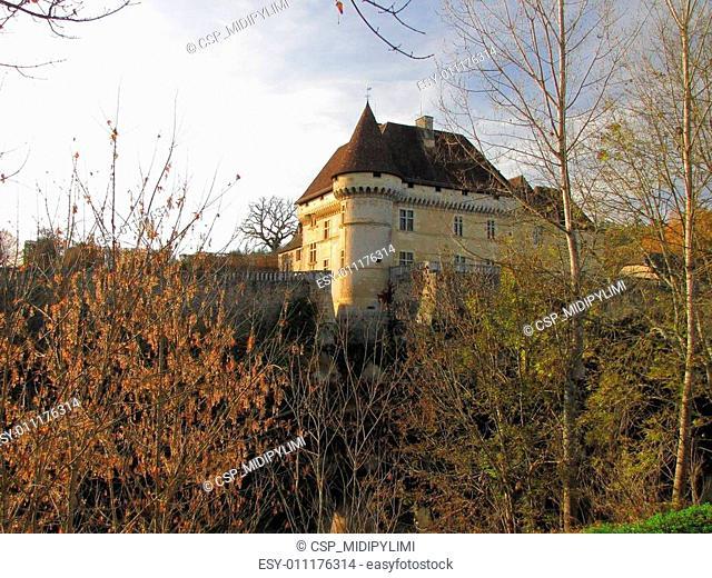 Castle, Losse, Valley Vezere