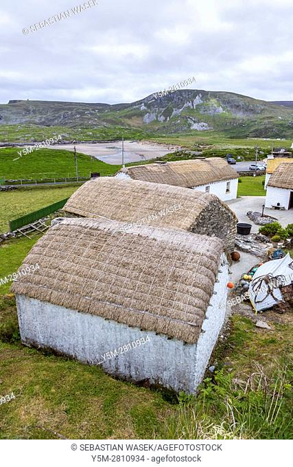 Glencolmcille Folk Village, county Donegal, Ireland, Europe