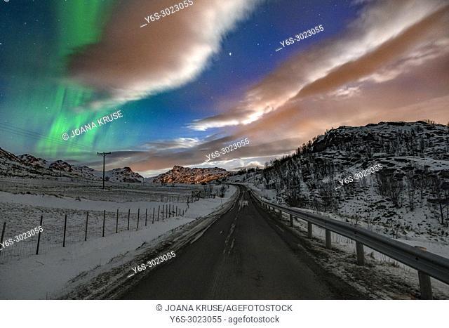 Bostad, Lofoten, Norway, Europe