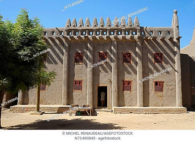 Typical architecture, Djenne, Mali