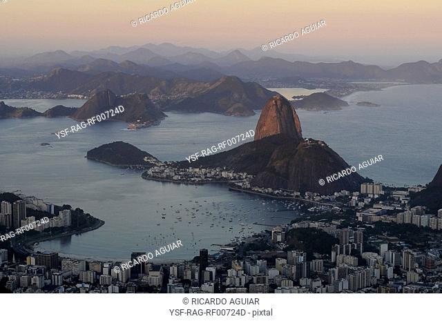 Landscape, Pão de Açúcar, Rio de Janeiro, Brazil