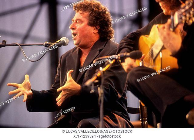 `El Torta'Juan Moneo Lara Flamenco Singer Municipal Auditorium Seville, Andalusia, Spain