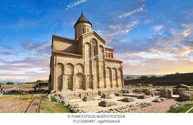 Picture & image of Samtavisi Georgian Orthodox Cathedral, 11th century, Shida Karti Region, Georgia (country)