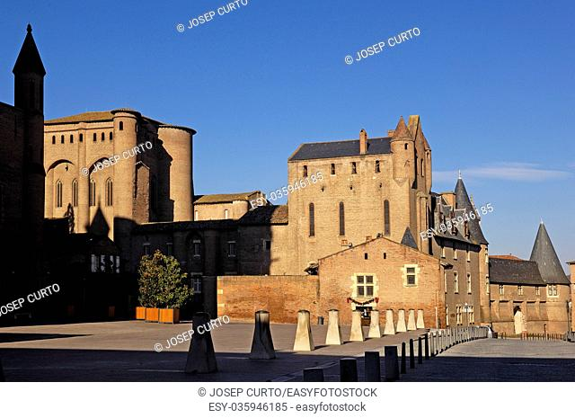Cathedral , Albi,Midi-Pyrenees, Tarn,France