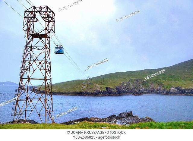 Dursey Cable Car, Ballaghboy, Beara Peninsula, County Cork, Ireland