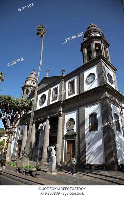 cathedral la laguna tenerife canary islands spain