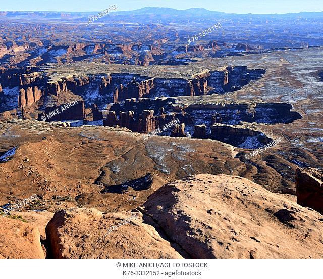Green River Overlook, Canyonlands, NP, Utah
