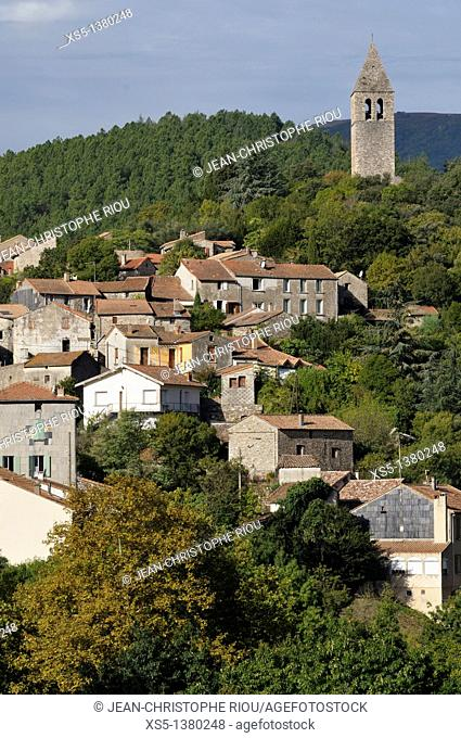 Olargues, Herault, Languedoc-Roussillon, France